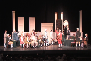 1787 tableau of Signing, from premiere production